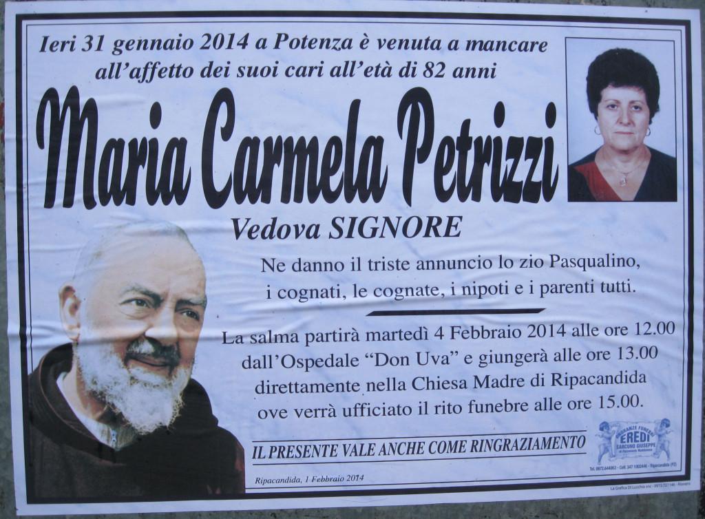 PETRIZZI Maria Carmela