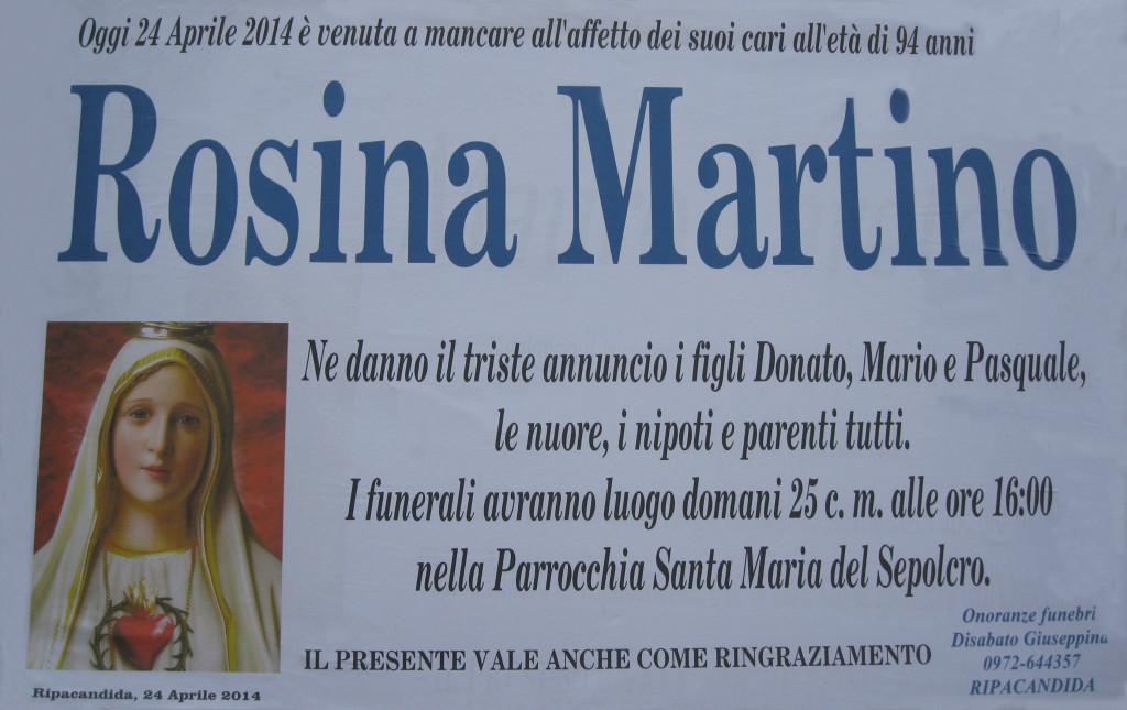 MARTINO ROSINA
