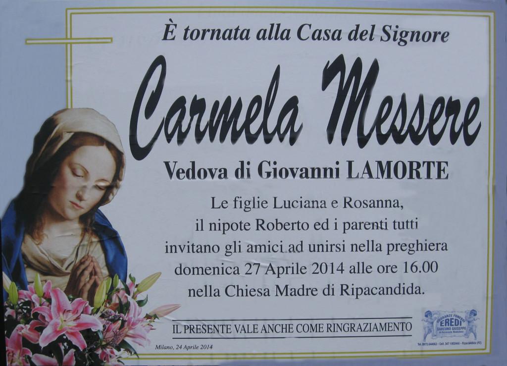 MESSERE CARMELA