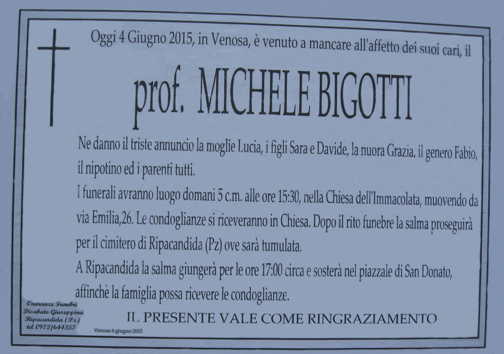 BIGOTTI Michele