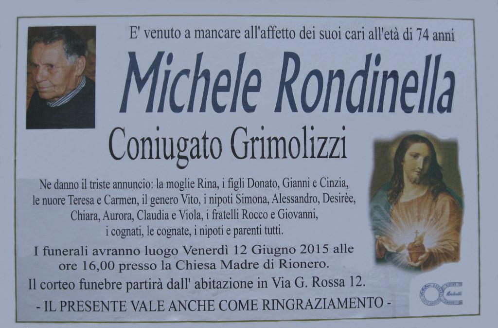 RONDINELLA Michele