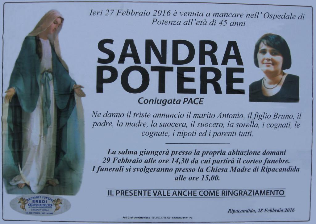POTERE Sandra