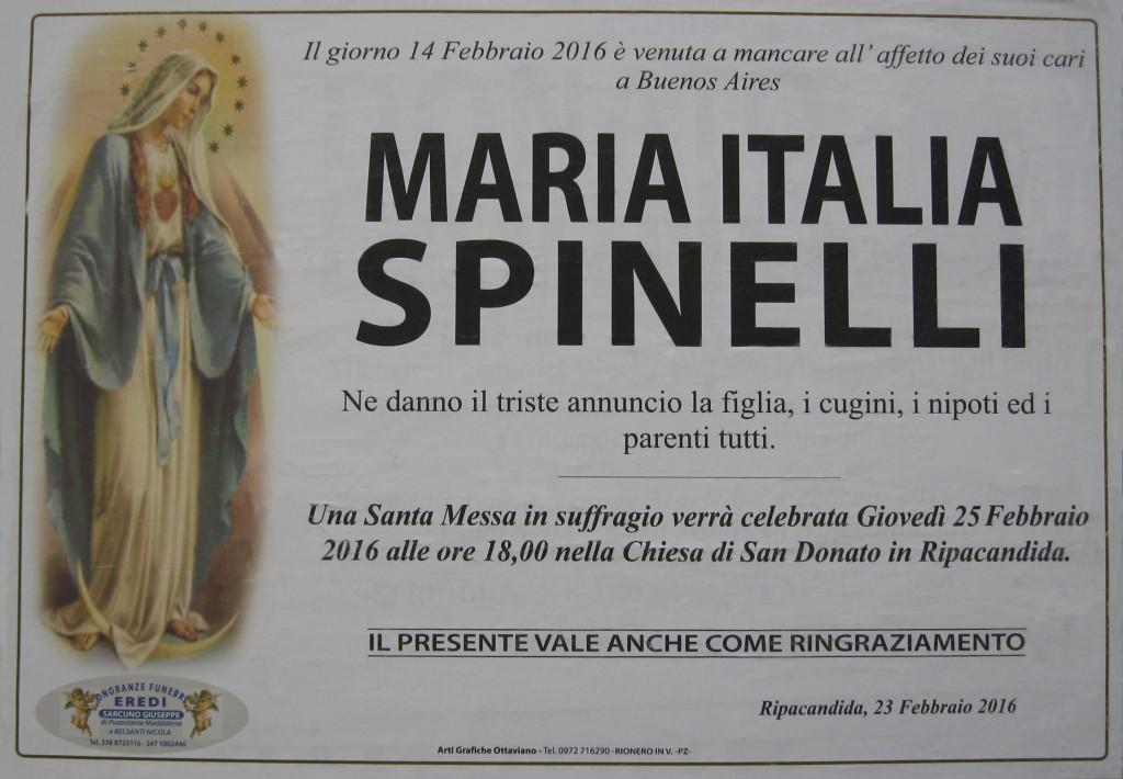 SPINELLI Maria Italia