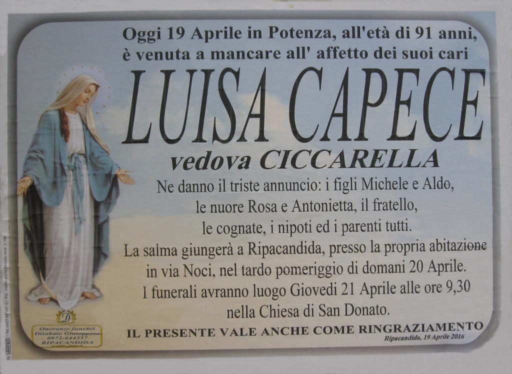 CAPECE Luisa