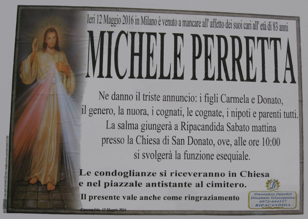 PERRETTA MICHELE (12-05-2016)