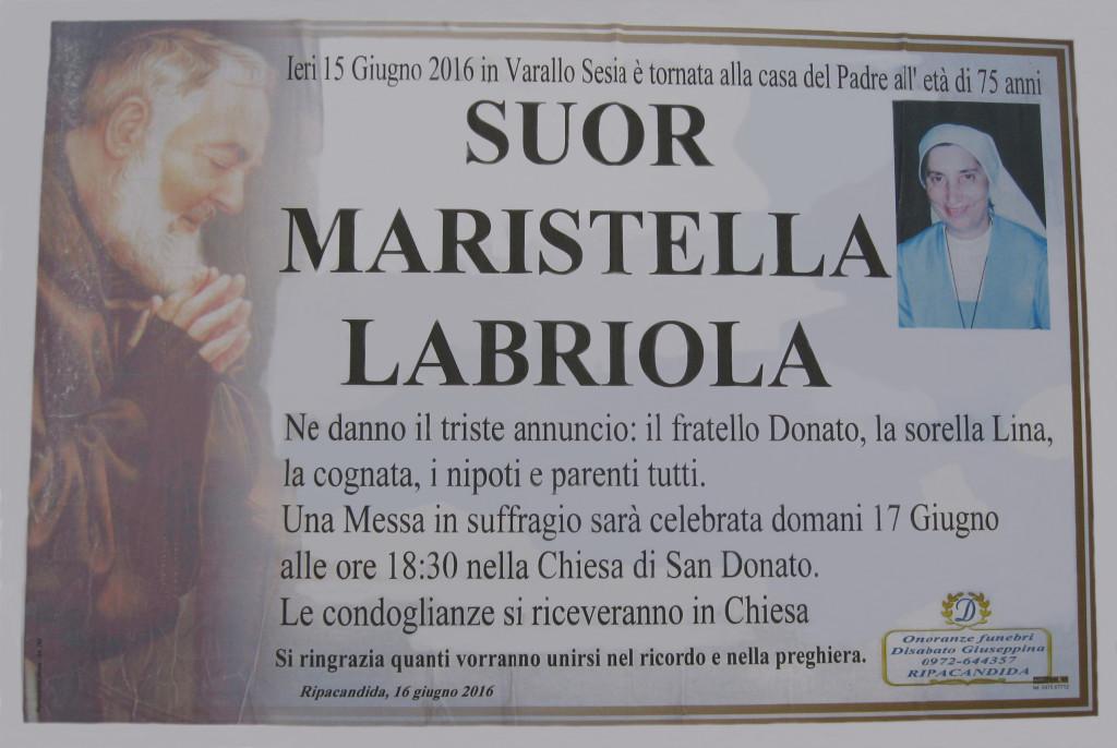 LABRIOLA Suor Maristella